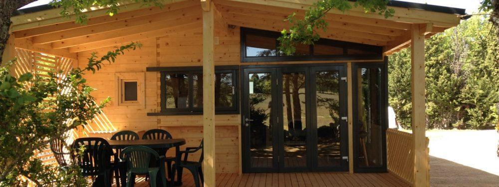 camping verdon Chalet Bioclimatique 3 chambres