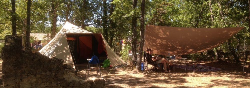 camping verdon familial sauvage