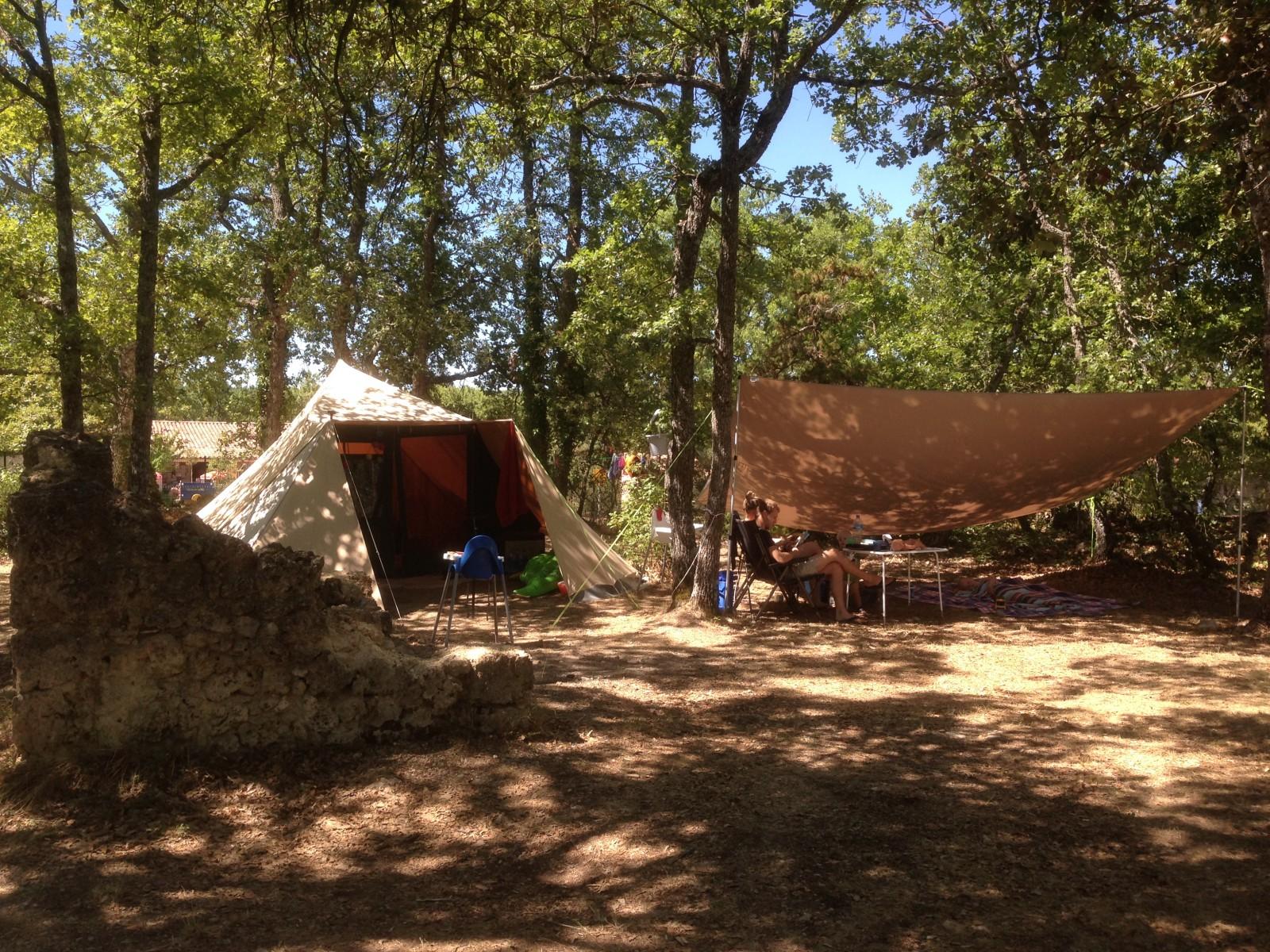 camping verdon familial sauvage