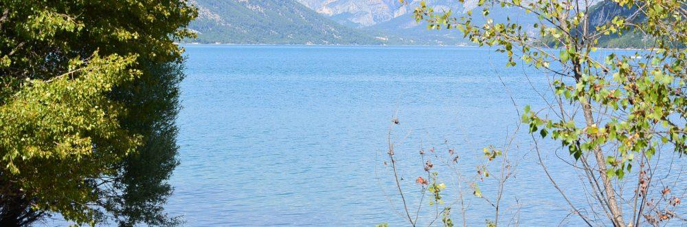 camping verdon familial Lac de Sainte Croix