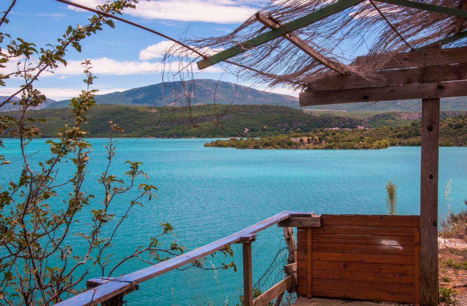 camping familial verdon Lac de Sainte Croix