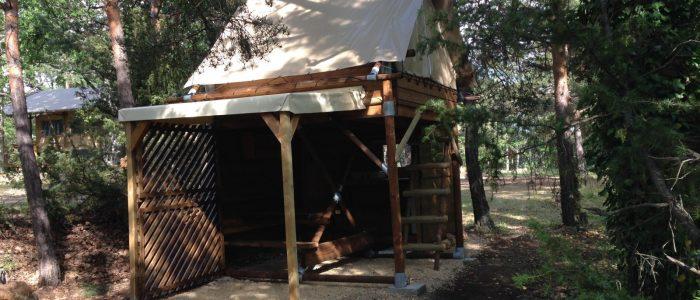 camping familial verdon le nid locatif atypique