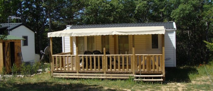 location mobil home camping verdon familial
