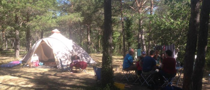 camping familial verdon camping sauvage