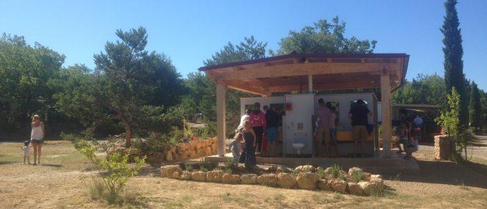 camping familial verdon sanitaire