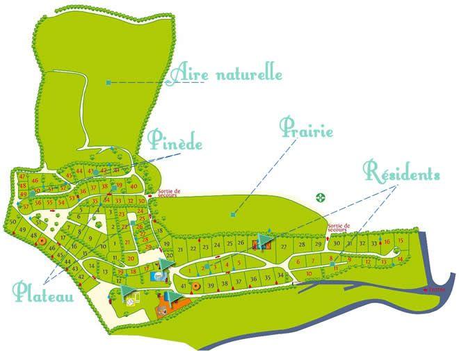 Plan camping Avelanede Verdon