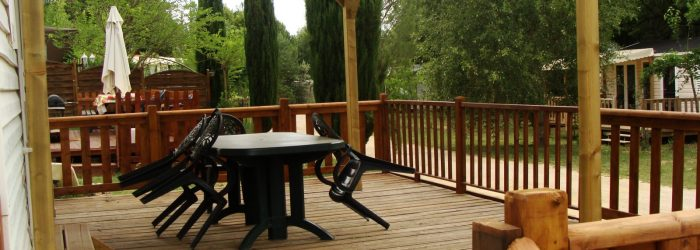 Camping Verdon Var Mobil Home résidentiel