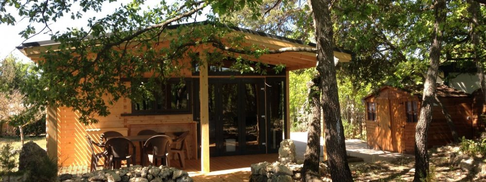 camping verdon locatif chalet 2 chambres