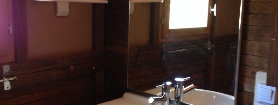 camping haut var verdon locatif salle de bain