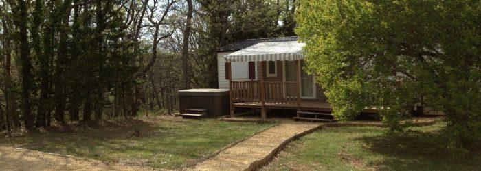 Camping Var Verdon mobil home résidentiel